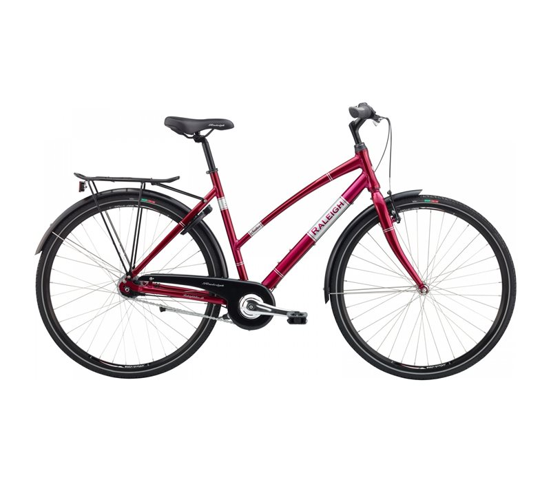 Raleigh Sidor DA 56cm N3 Burgundy Red