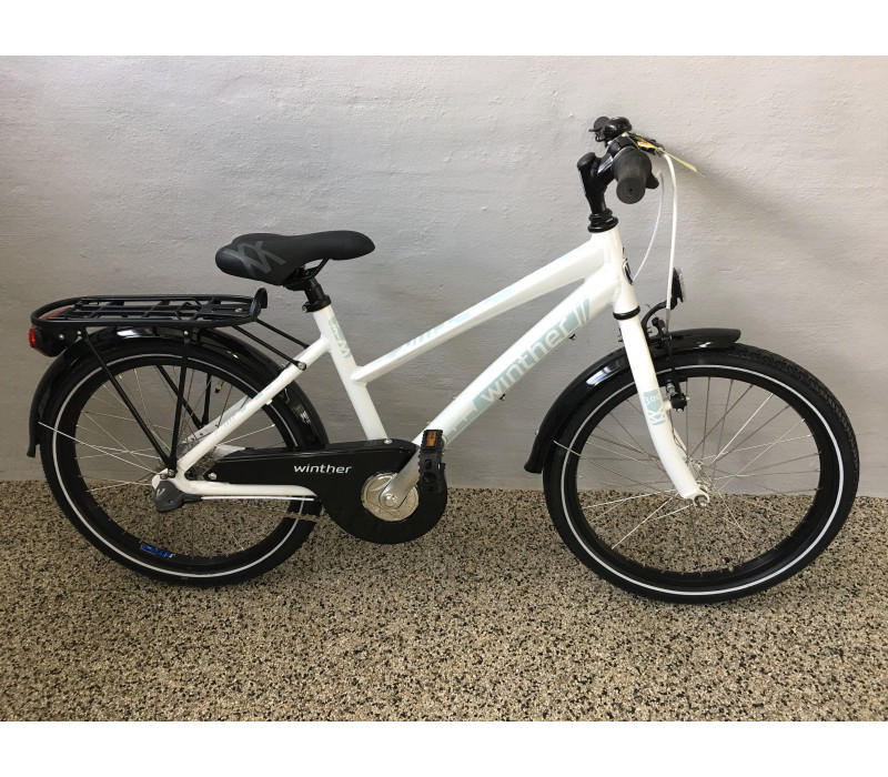 "Winther 300 alu DR 20"" N3 Black/white 2016"