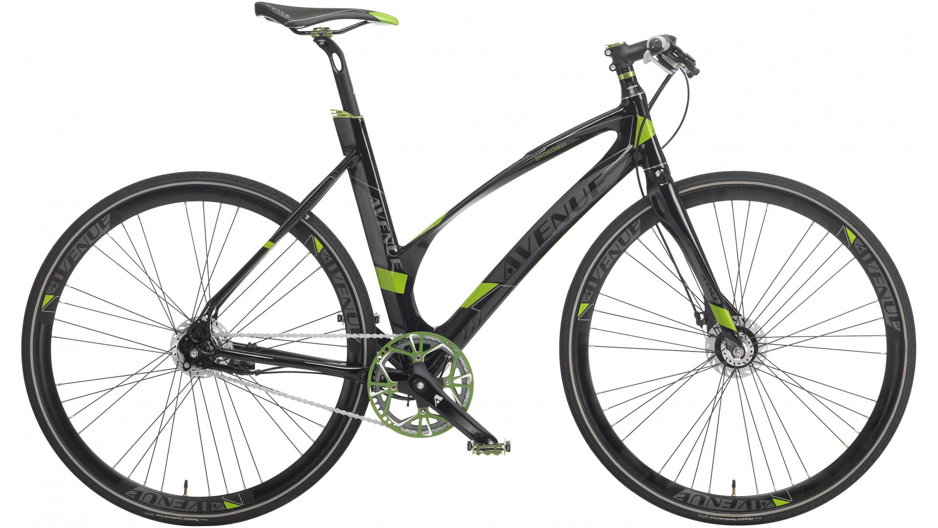 Avenue Broadway Herre Nexus 7g RB 2020 - Hvid | city-cykel
