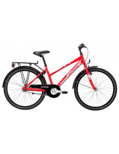 """Winther 300 alu girl 20"""" N3 Shiny red/white 2016"""