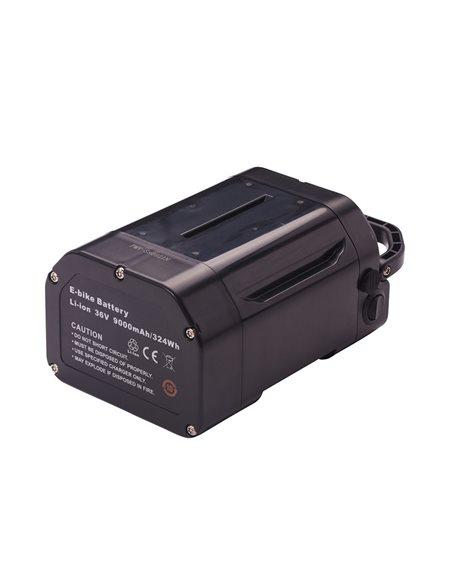 Sadeltaskebatteri til elcykel (Raleigh + Promovec)