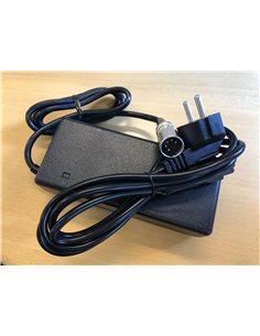 Oplader 36 volt til Tranz-X, E-Fly, Winora m.fl. (original)
