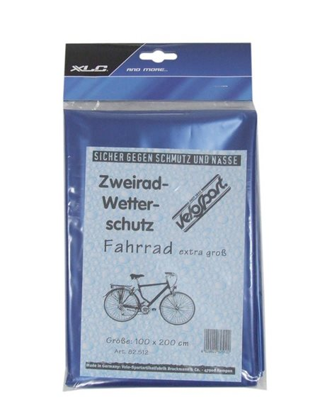 XLC Cykelgarage/overtræk 100 x 200 cm blå