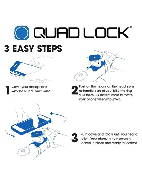 Quad Lock Bike Kit