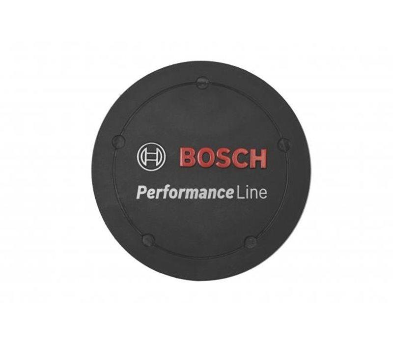Bosch Performance Line Logo Cover til motor sort