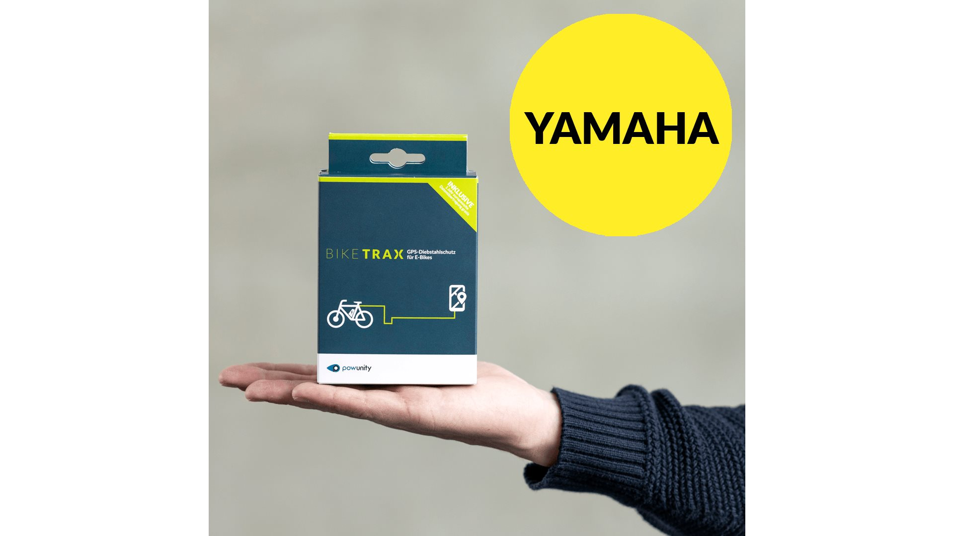 BikeTrax GPS tracker til Yamaha Elcykel   City-cykler