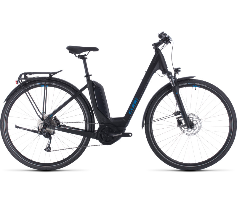 Cube Touring Hybrid ONE DA black´n´blue