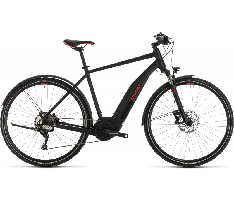Cube Nature Hybrid EXC Allroad black´n´red