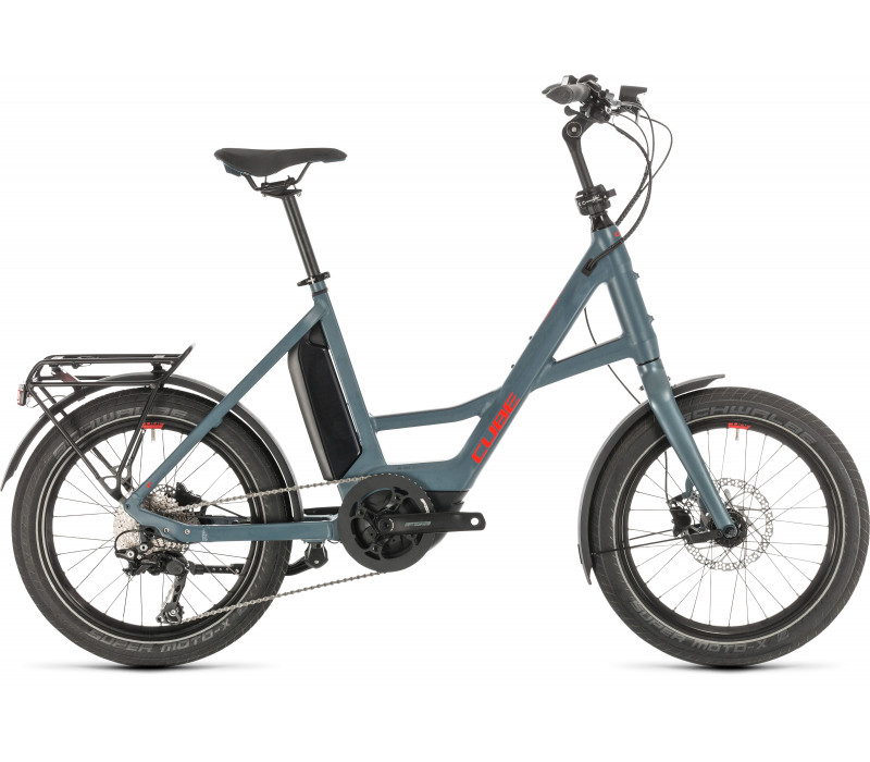 Cube Compact Sport Hybrid blue´n´red