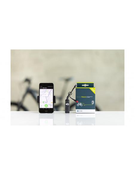 BikeTrax GPS tracker til Elcykel med Shimano