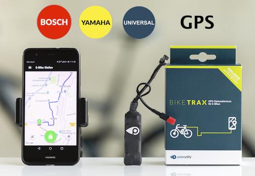 GPS-tracker til elcykel