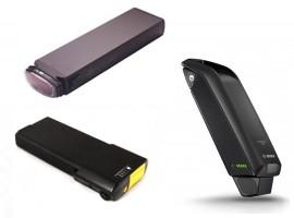 Elcykel batterier